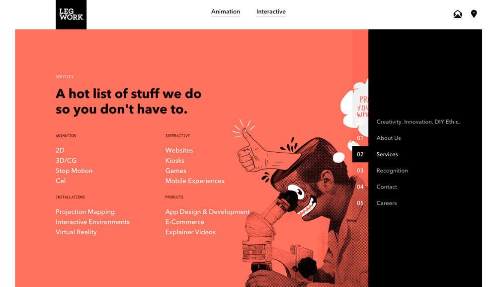 Diseño web: ejemplos de uso del color