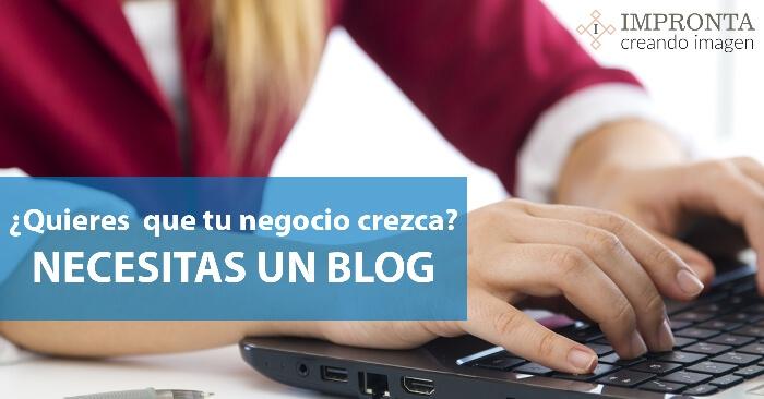 Porqué es importante para tu negocio tener un blog